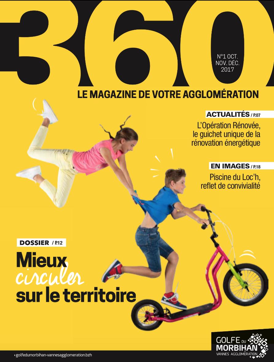 Couverture magazine N°01