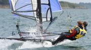 Séance de catamaran en golfe du Morbihan